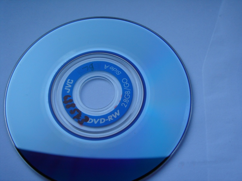 A DVD-RW mini disc by JVC that can hold 2.8gb of video data.