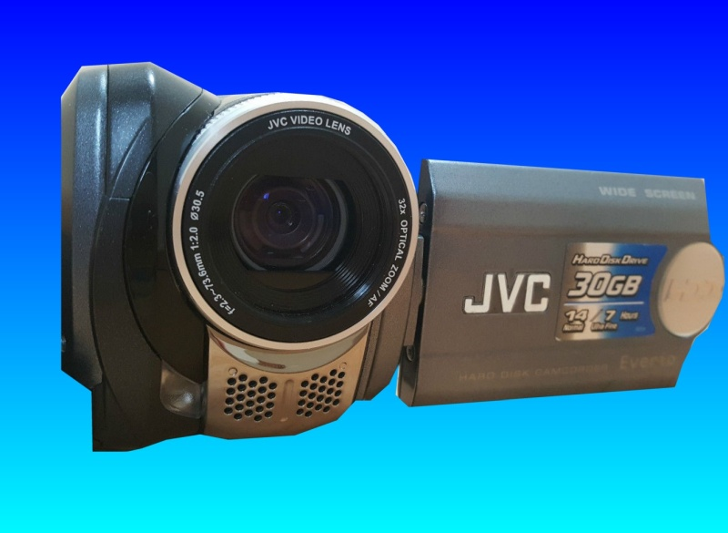 A Formatted Hard drive inside a JVC Camcorder Everio GZ-MG36EK.