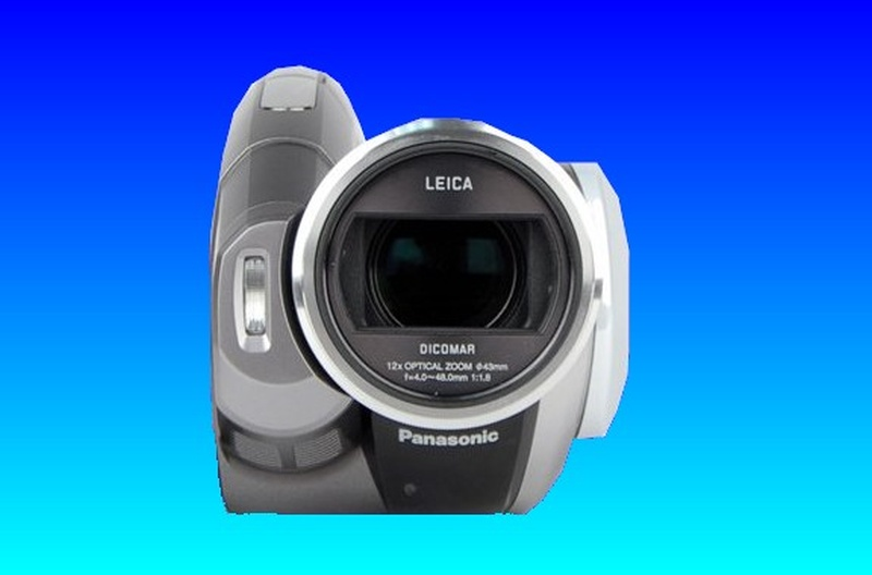 A Panasonic Camcorder that shuts off immediately after it is booted up. This camera model number was HDC-HS100.