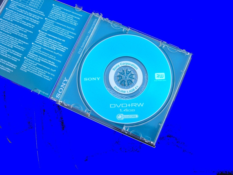 A Sony DVD+RW mini disc that had become corrupt. When the user tried to play it back in the camera it looked like everything had gone.