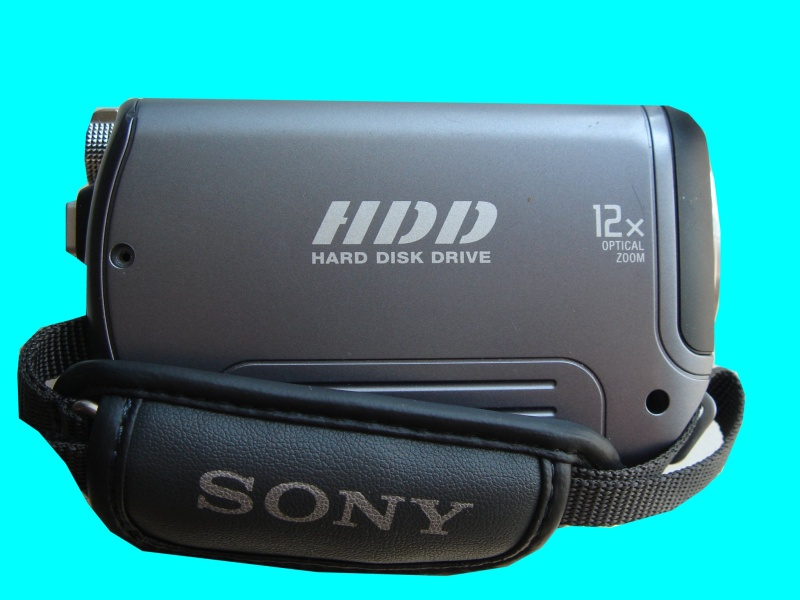 A Sony handycam showing the HDD disk cover which had had video deleted from it's hard drive by accident. The video was of a wedding so the client needed to get it back and sent it to us for recovery of the data.