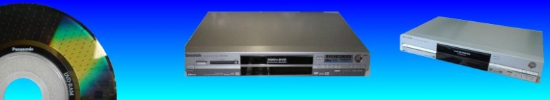 Panasonic DMR recorder video recovery, recover data from Panasonic recorders error problems failure to start
