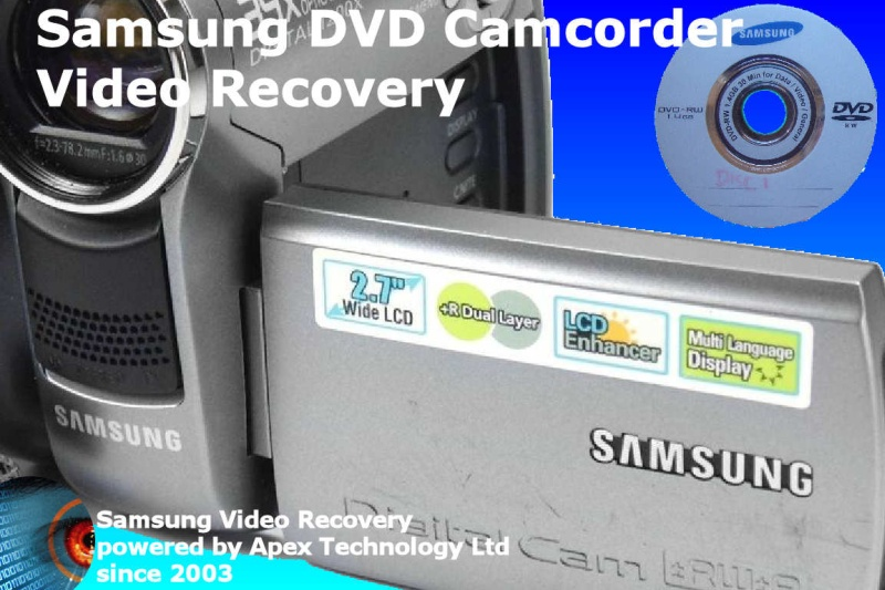 Samsung mini dvd finalize disk