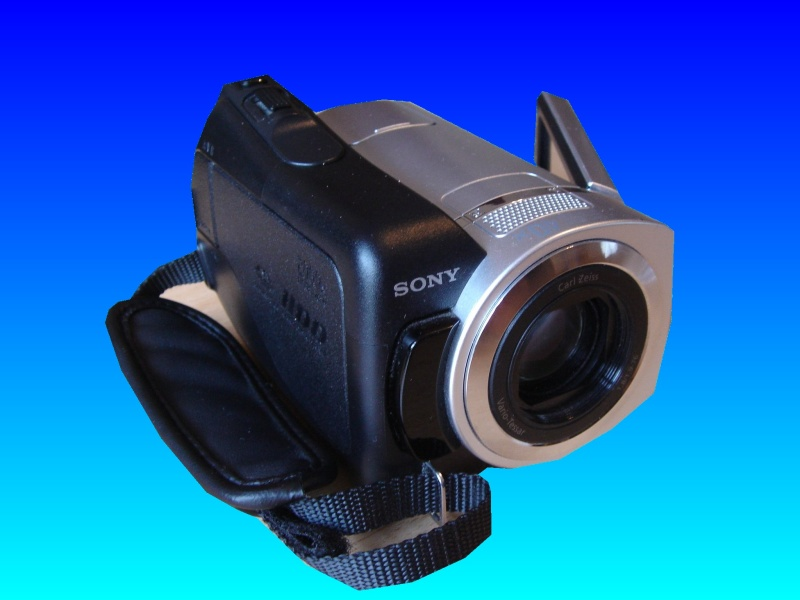 A Sony DCR-SR35 Handycam that had liquid damage from apple juice. It was sent to us to recover the videos from the internal HDD.