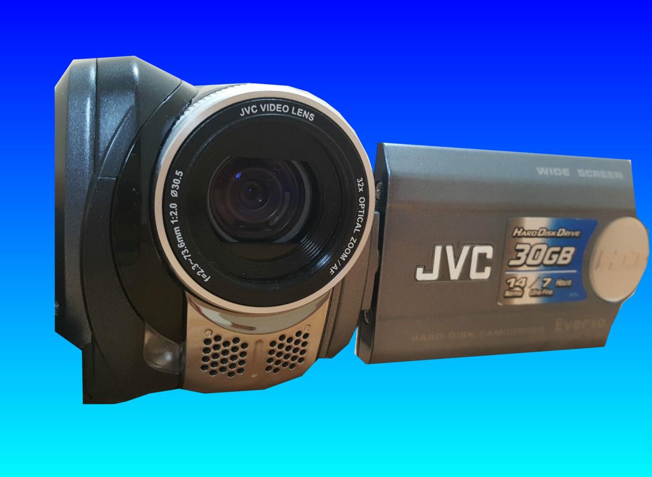 A Formatted Hard drive inside a JVC Camcorder Everio GZ-MG36EK.