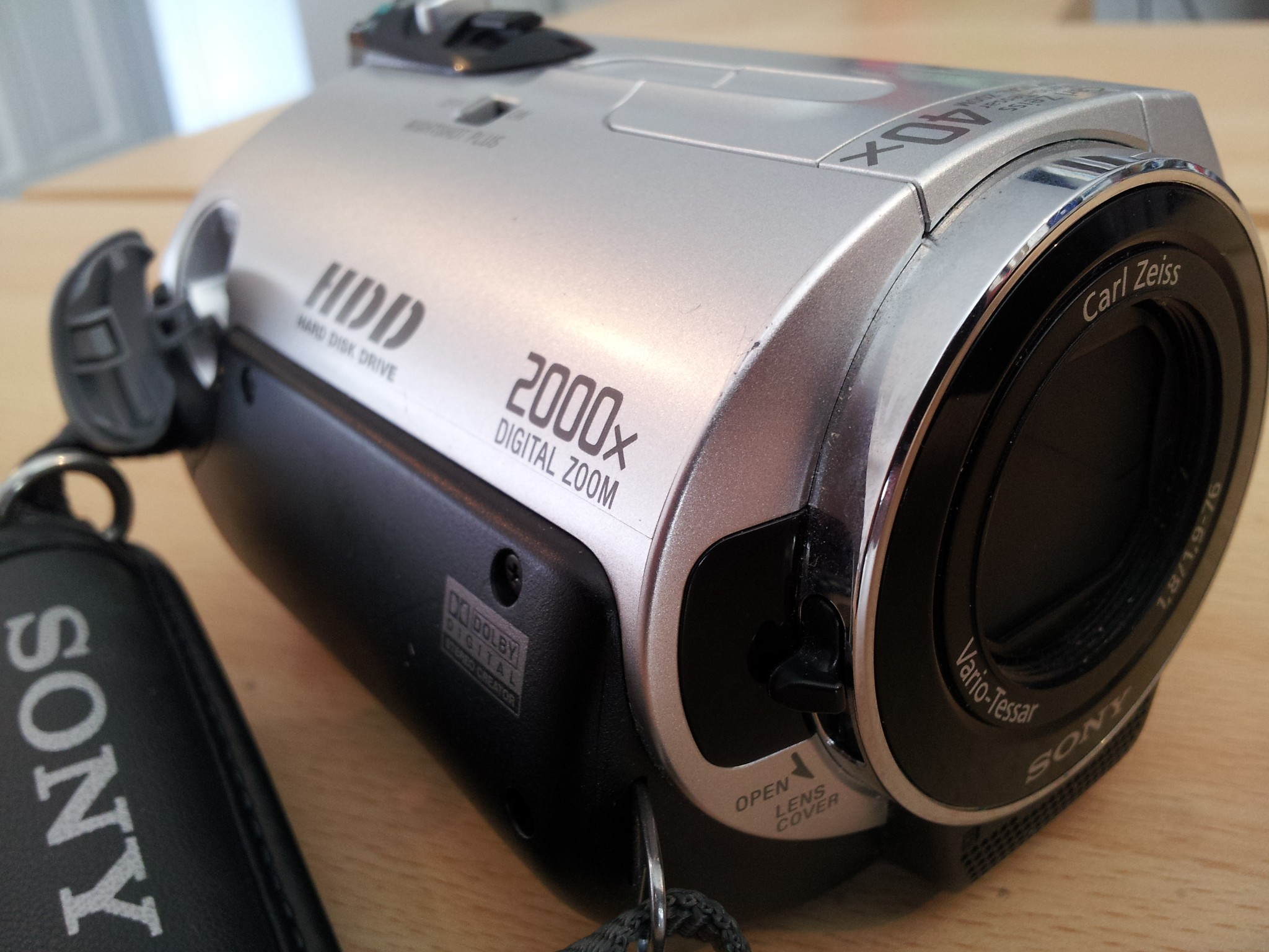 A Sony HDD Camcorder using High Definition AVCHD (H.264 MPEG4 or m2ts) video codecs to record to the hard disk. This one had accidental formatting on the hard drive so needed video recovering.