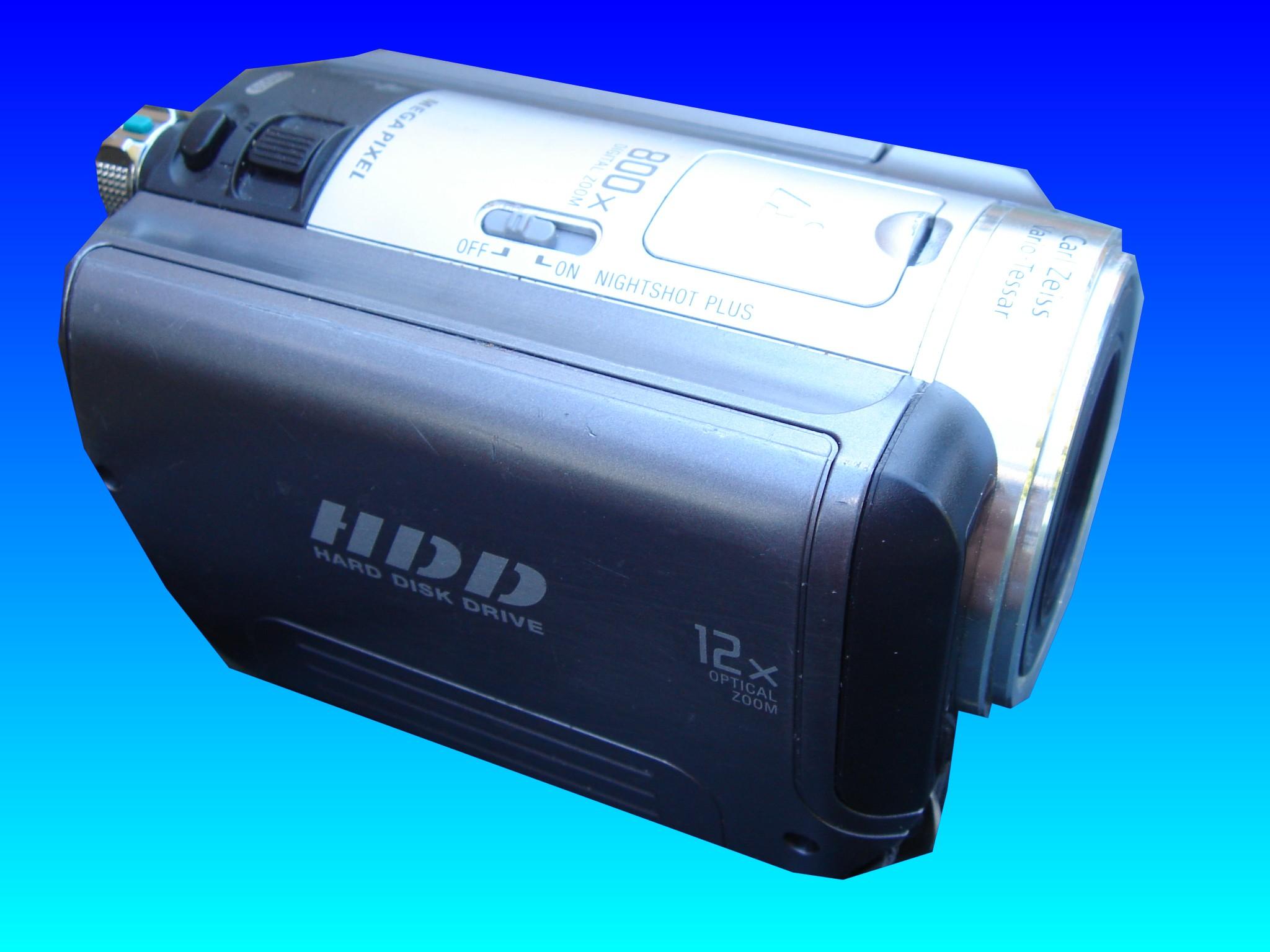 Erased videos from a Sony HDD handycam DCR-SR70.