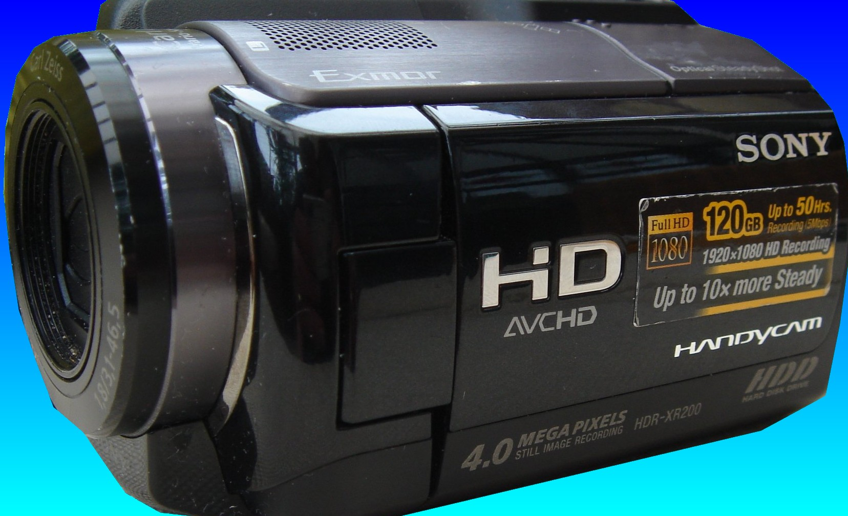 A Sony AVCHD HD High Definition video camera which records clips to the hard drive. We have recovered video from this drive and re-joined the video clips into their original order. The owner had re-formatted the drive and deleted the videos, and over the years the video had been fragmented and spilit into many smaller clips saved in different parts of the hdd.