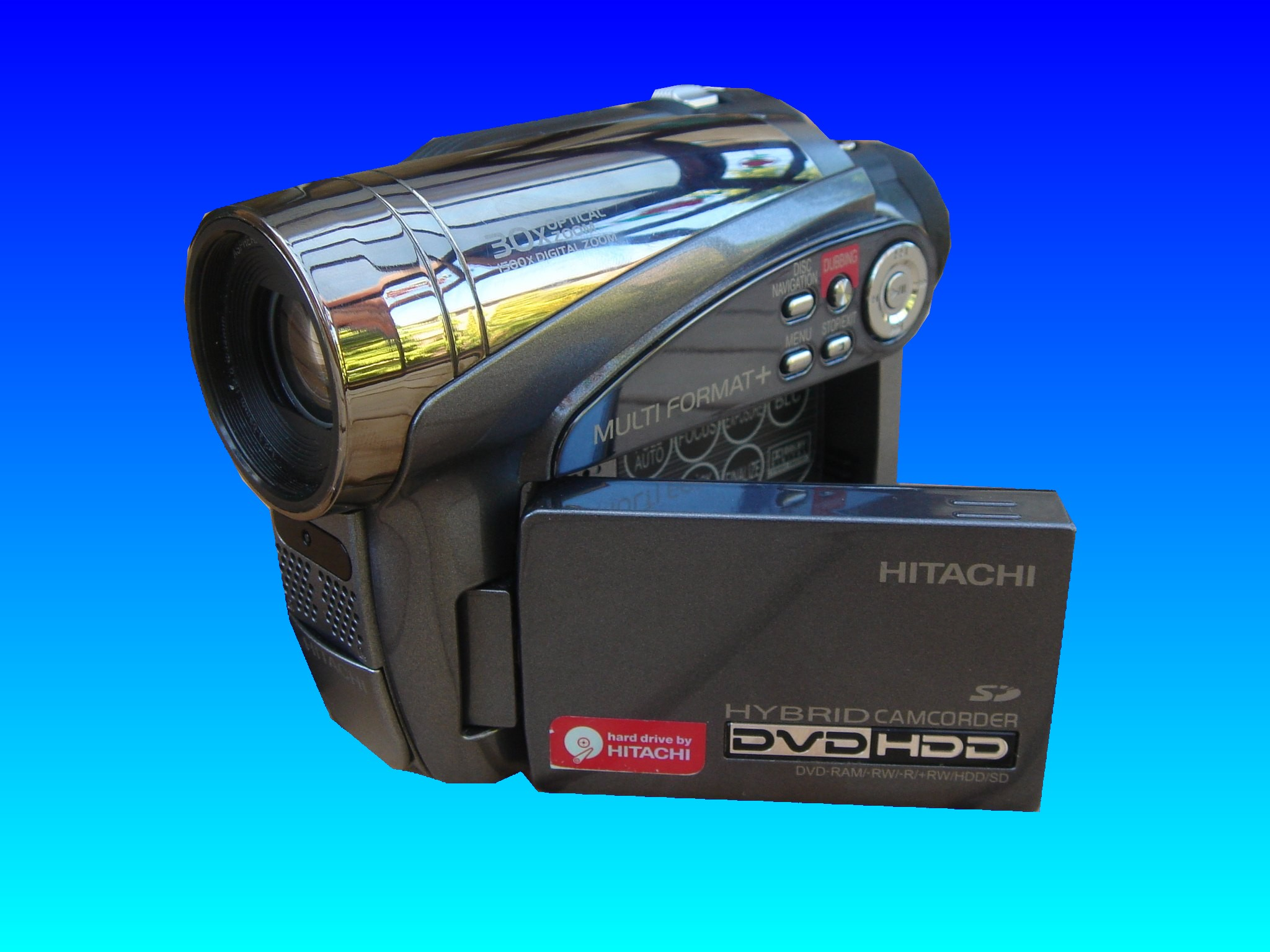 An Hitachi Camcorder model number DZ-HS500E that had everything deleted from the hard drive and needed the files recovering.