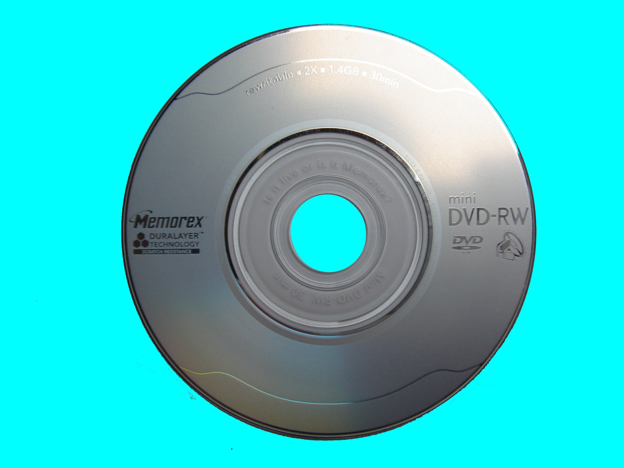 A Memorex mini DVD from a Panasonic DVD recorder. The disk underwent finalization but after copying it, the dvd player freezes and stutters on playback.