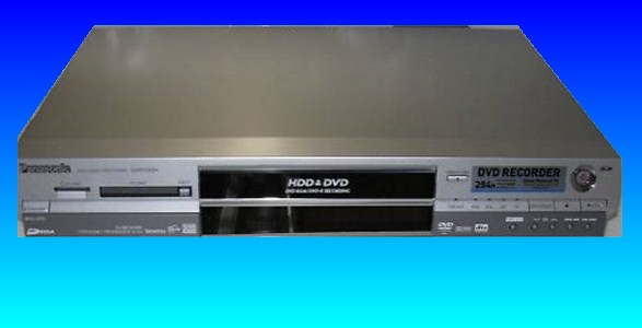 A Panasonic HDD Video Recorder which also incorporated a DVD-RAM disk burner. The Panasonic DMR series recorders are common visitors to our video recovery lab.