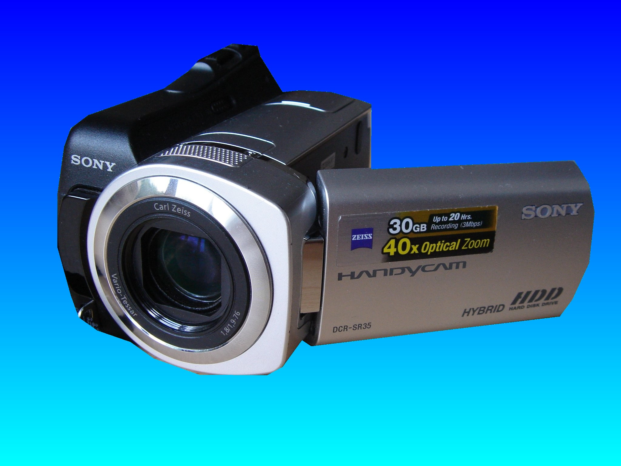 A Sony Handycam DCR-SR35 which had been used to record a wedding video. Later the video was deleted by accident and so the camera was sent to us to recover the movie.