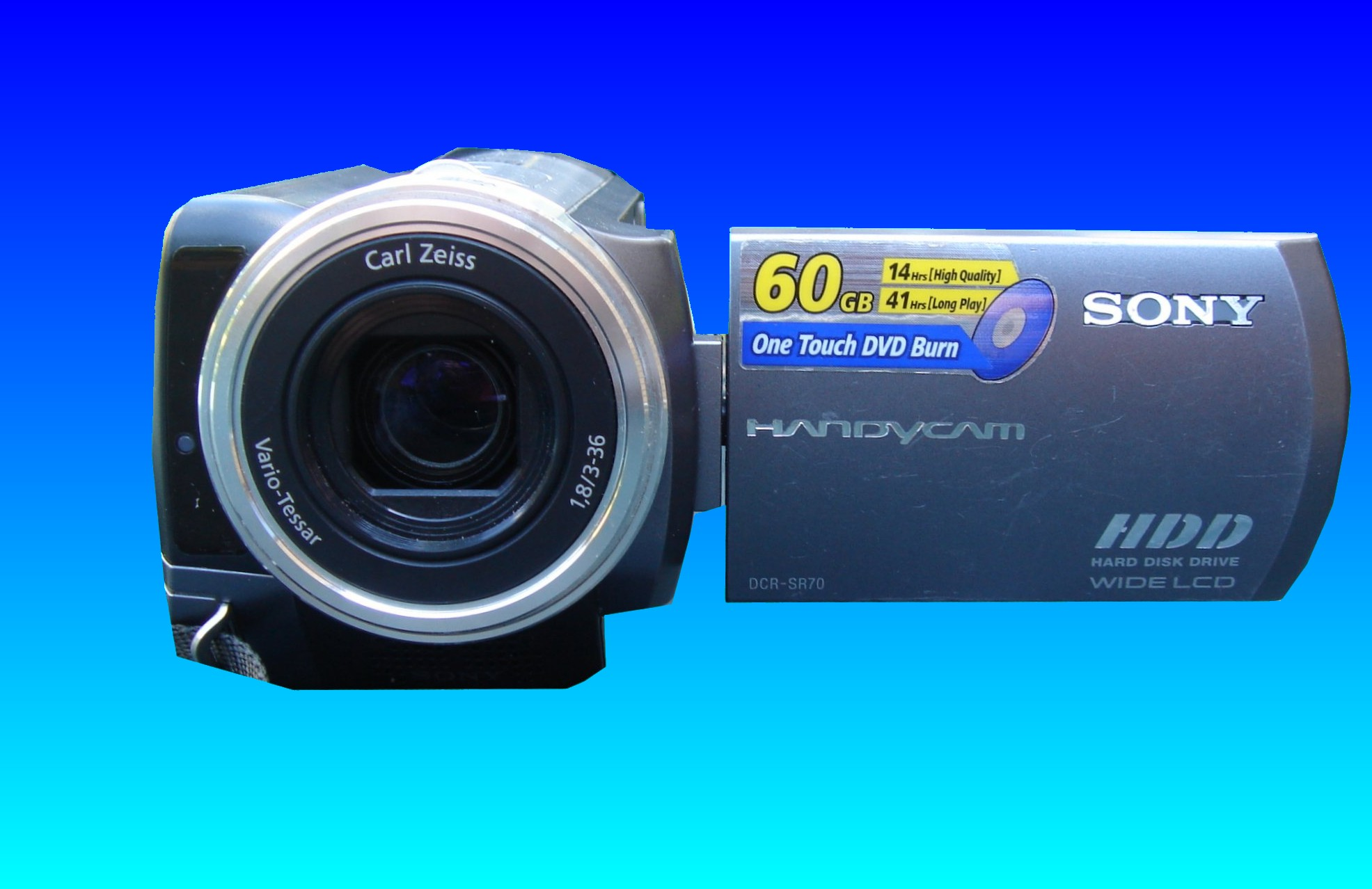 A Sony Handycam DCR-SR70 which was missing the image icons from the screen showing the video clips that were created on the hard disk. Accidental deletion by the client meant the camcorder needed to undergo video recovery.