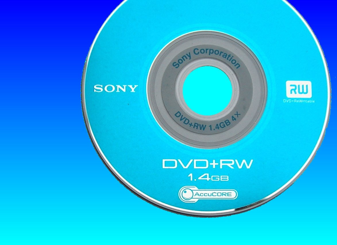 A Sony Handycam disk that showed disc error message. A computer was also tried to read the files but the disk showed blank or empty so it was sent to us for recovery.