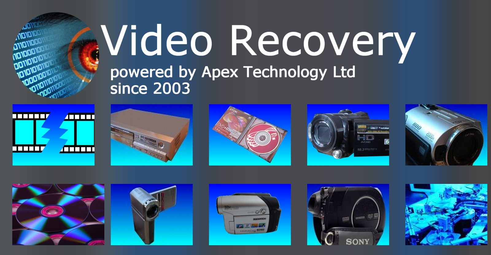 Video Recovery from Hard Drives and Mini DVD Camcorders and Video Recorders