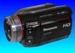 Panasonic HDC HD Camcorder problem starting