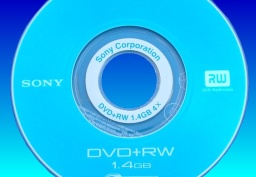 A DVD suffering the repairing data error message which showed up on the Sony Handycam it was used in. It was therefore sent to our offices for video recovery.