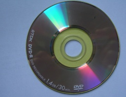 A TDK 30 minute 1.4GB recordable DVD-R mini disc which was used in a Sony camera. 3 short movies had been recorded on the disk and the client sent it to us for recovery when it only showed disc error during attempts to play it back.