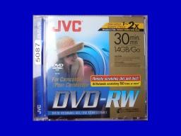 Finalise JVC DVD-RW check disc message
