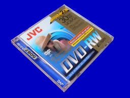 A Camcorder DVD by JVC - this one is a rewritable dvd-rw that would not play in a DVD player. The reason was that it was not finalized correctly so was sent to us for repair.