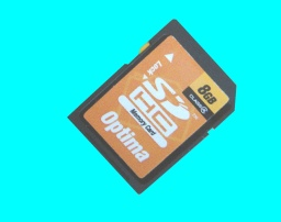 Finalise SD Card Samsung VP-DC165WB camcorder