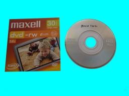 Maxell DVD-RW finalize problem