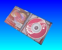 TDK DVDRW format error video recovery